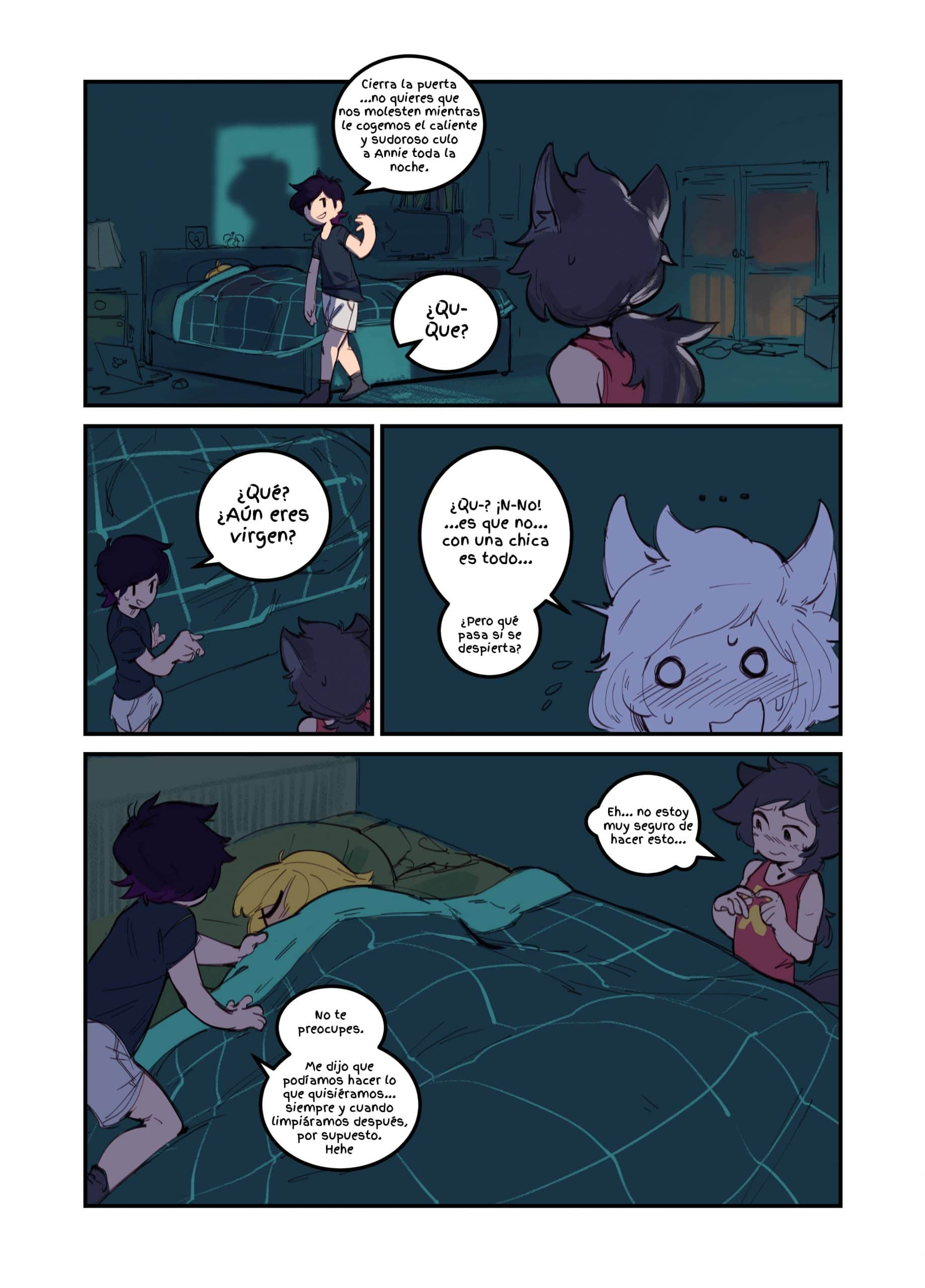 [GREASYMETA] – ANNIE'S SUPER DUPER X2 SLEEP-OVER - 3