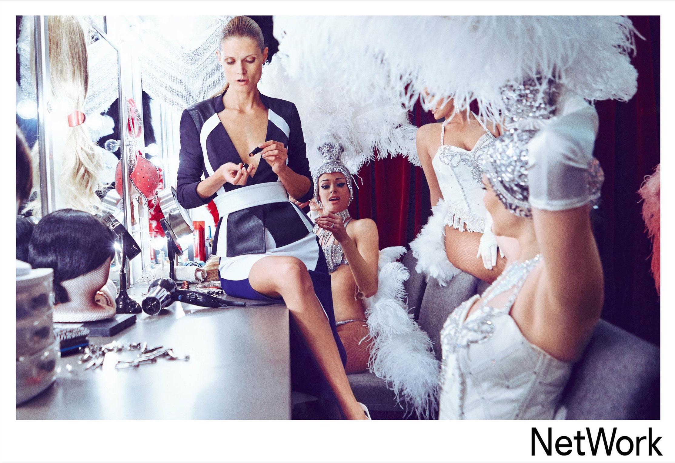 супермодель Малгоша Бела в рекламной кампании турецкого модного бренда Network, сезон весна-лето 2015 / фото 04