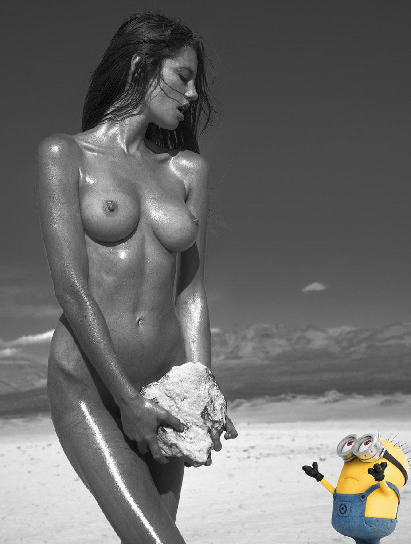 minion and Hannah Cee nude by Khoa Bui