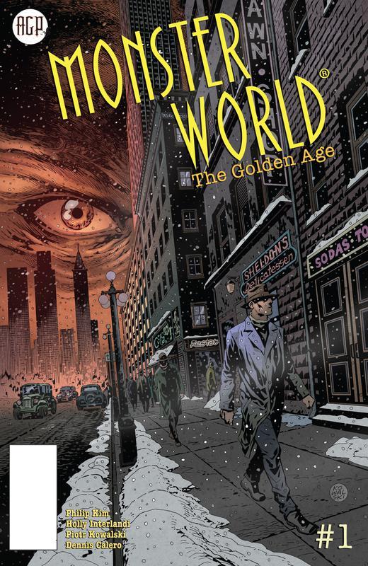 Monster World - The Golden Age #1-3 (2019)
