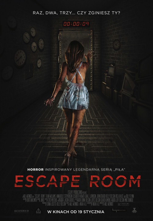 Escape Room (2017) PL.BDRip.XviD-KiT / Lektor PL
