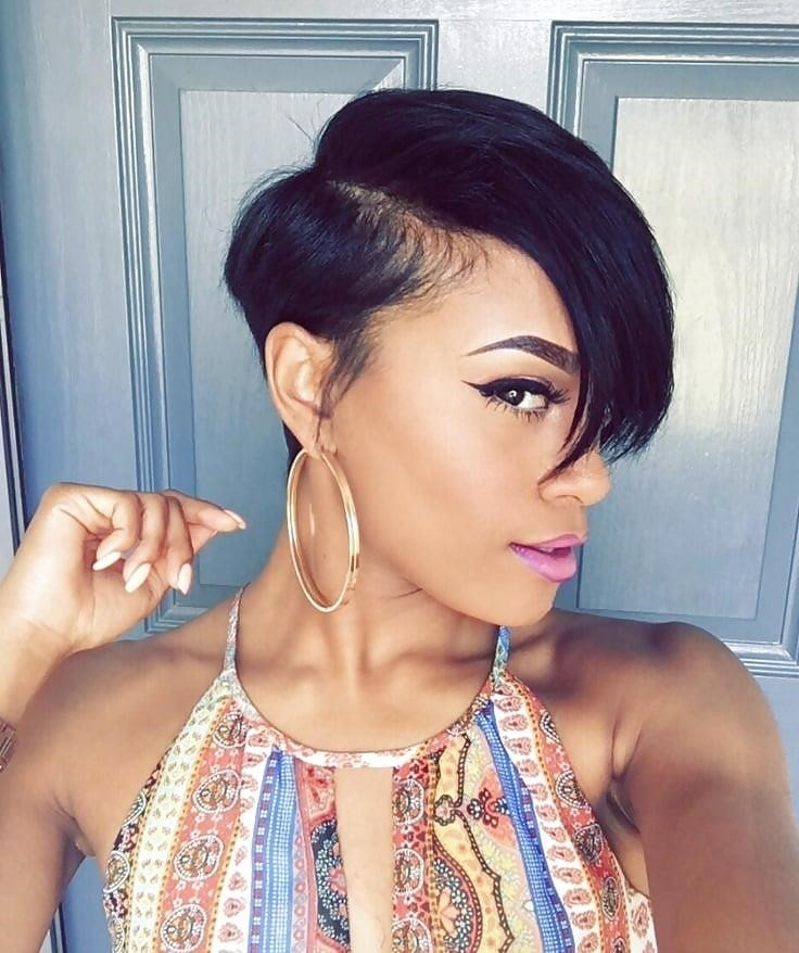 Different short hairstyles for black ladies-6134