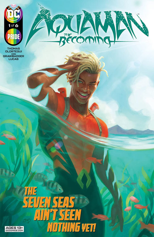 Aquaman - The Becoming 01 (of 06) (2021)