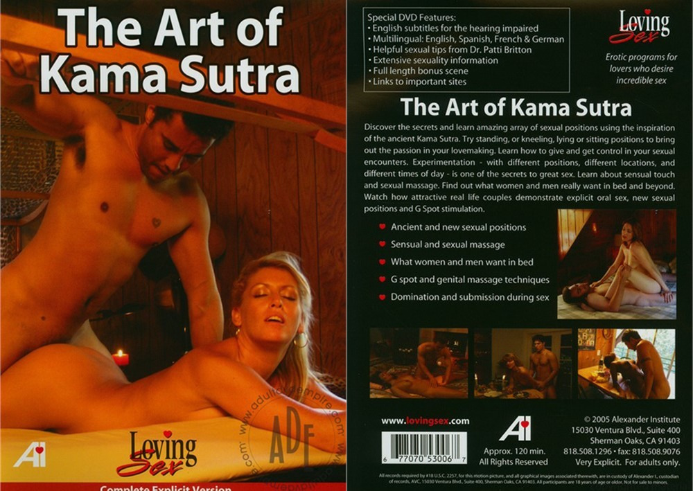 The Art Of Kama Sutra / Искусство Камасутры (Alexander Institute) [2005 г., Erotic, Documentary, Education, DVDRip]