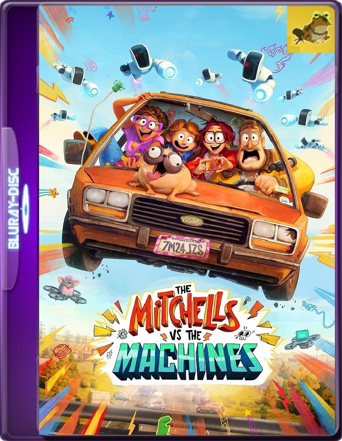 La Familia Mitchell VS Las Máquinas (2021) WEB-DL 1080p (60 FPS) Latino / Inglés