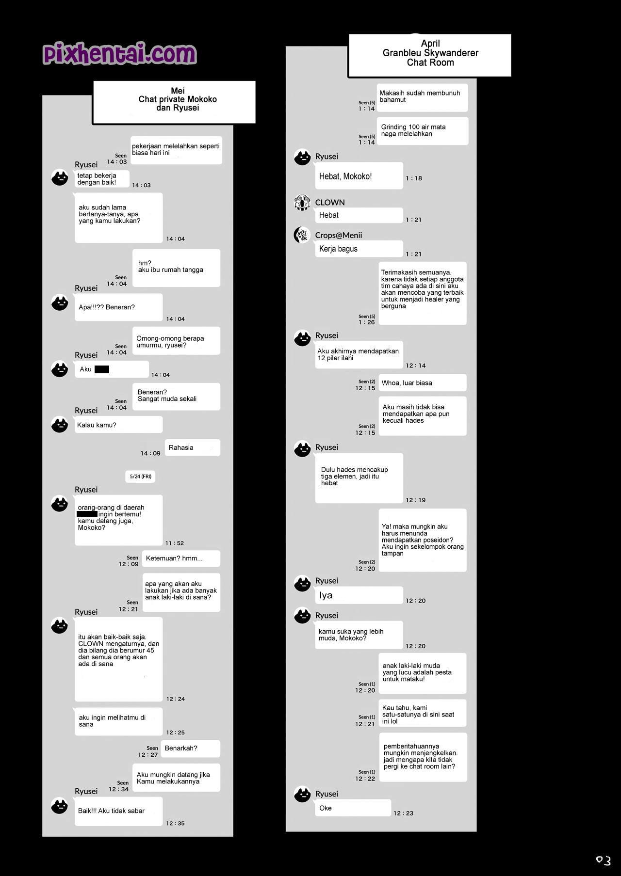 Komik hentai xxx manga sex bokep menghamili wanita bersuami dari guild member game 04