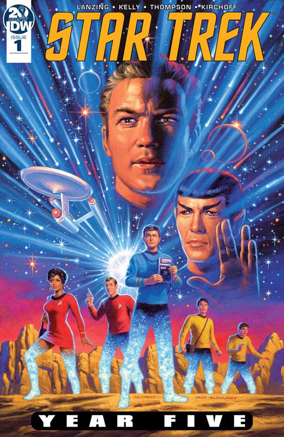 Star Trek - Year Five #1-4 (2019)