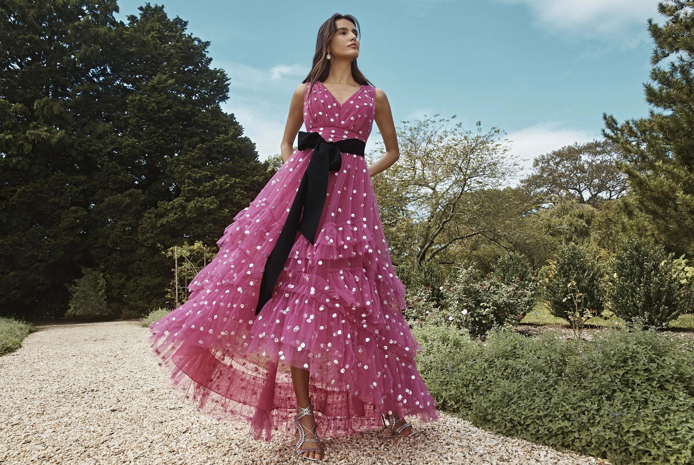 Коллекция модной одежды Marchesa, сезон весна-лето 2020 / фото 17