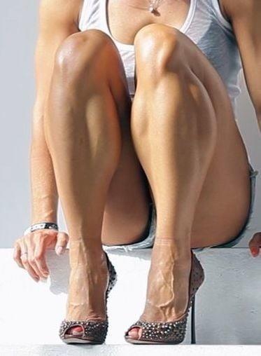 Bodybuilder female clit-9121