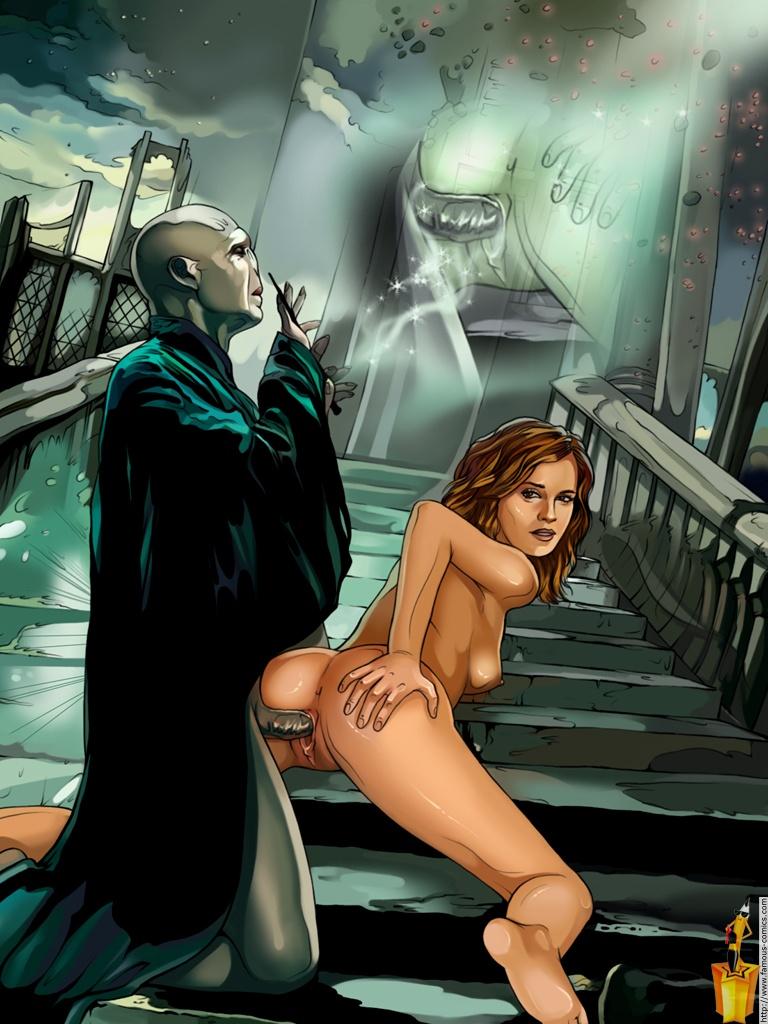 Harry Potter animované porno
