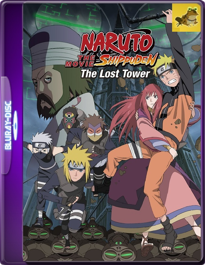 Naruto Shippuden Movie 4: The Lost Tower (2010) Brrip 1080p (60 FPS) Japonés Subtitulado