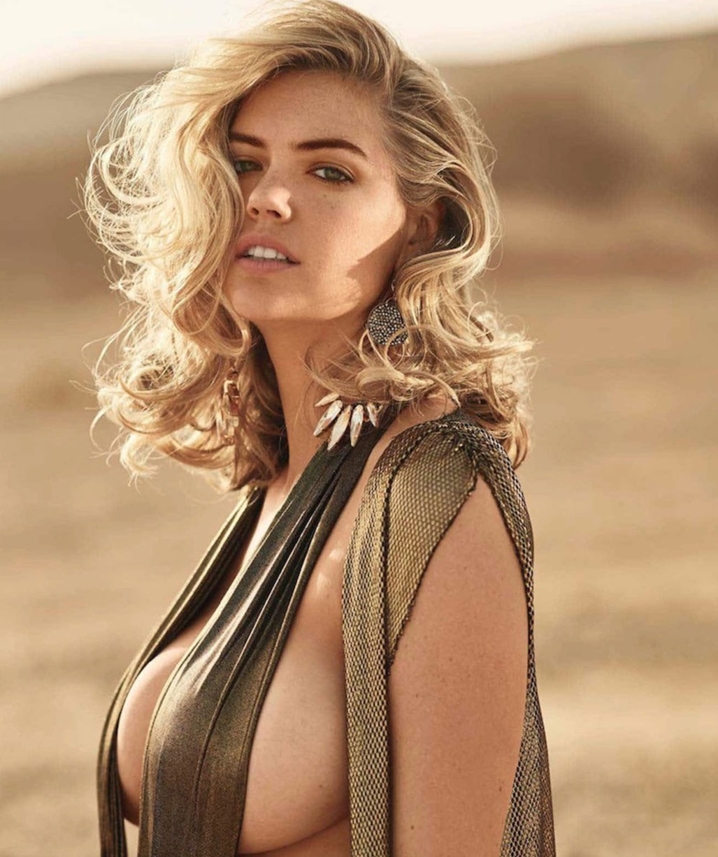 American Beauty no.1 / Kate Upton by Gilles Bensimon / Maxim july/august 2018