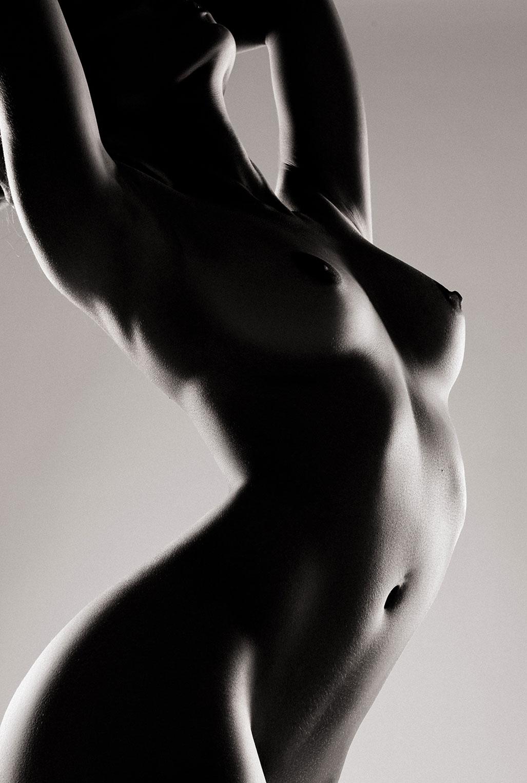 Голая модель Милунель, фотограф Бенджамин Вингриф / фото 15