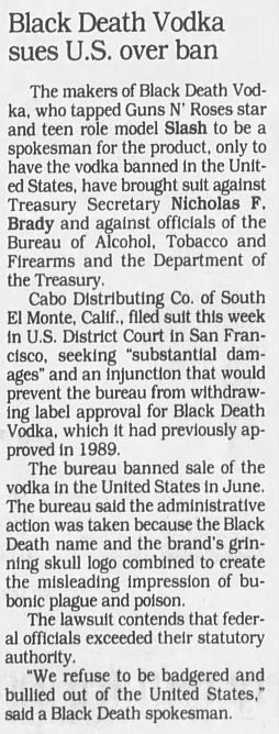 1992.03.13 - New York Daily News - Slash bottles deal (Slash) ZDgICRqp_o