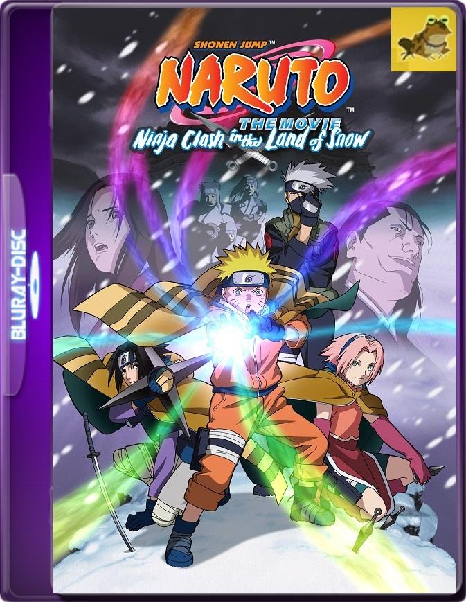 Naruto La Película: ¡La Gran Misión! ¡El Rescate De La Princesa De La Nieve! (2004) Brrip 1080p (60 FPS) Latino / Japonés
