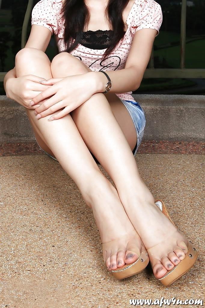 Asian feet footjob-4953