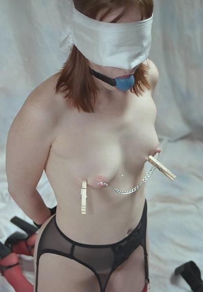 Bondage and gagged girl-2799