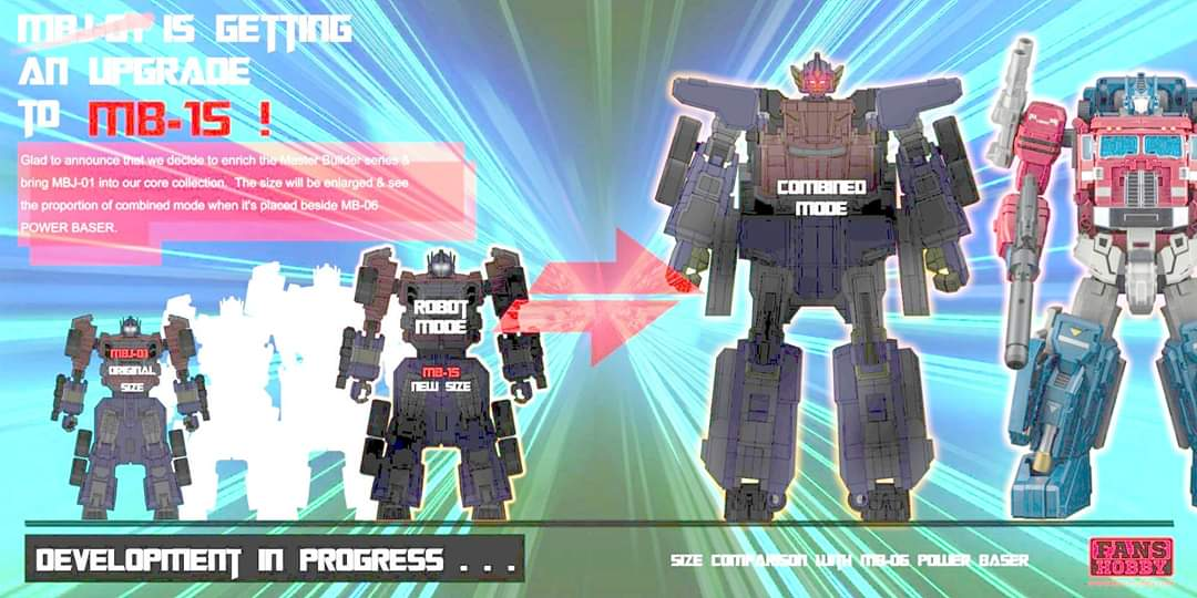 [FansHobby] Produit Tiers - Master Builder MB-15, MB-xx et MB-xx - aka Armada Optimus Prime, Jetfire et Overload Hh6wPzaA_o