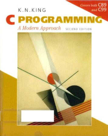 C Programming A Modern Approach (searchable  with contents) by Kim N  King