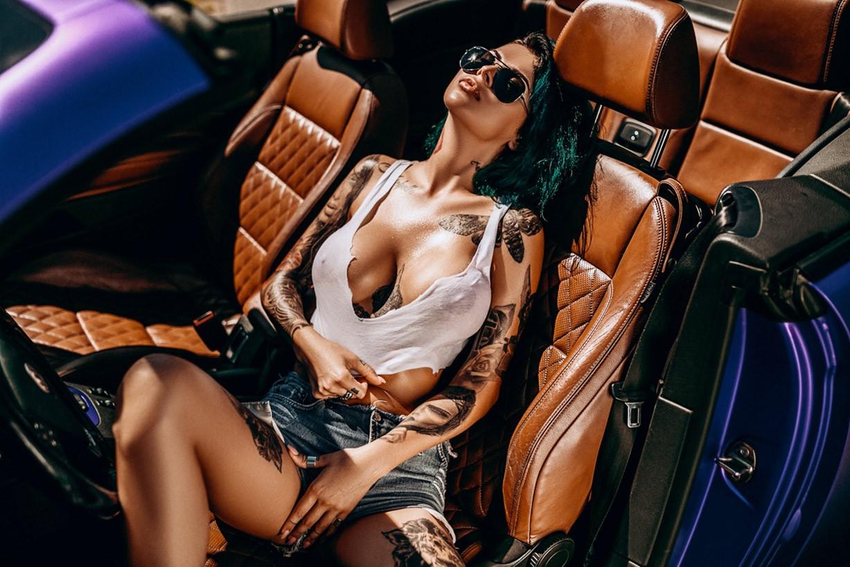 cars / Lady Vamp by Anton Sofiychenko