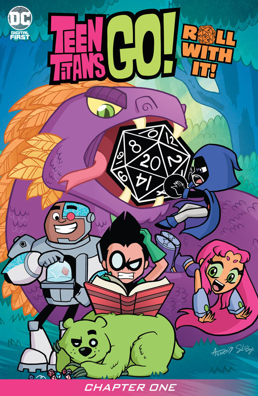 Teen Titans Go! Roll With It! #1-4 (2020)