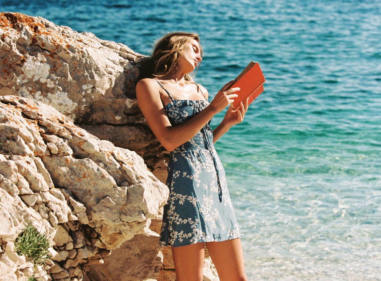 Отдыхаем на пляжах Хорватии с фотомоделью Мэдисон Хедрик / фото 13