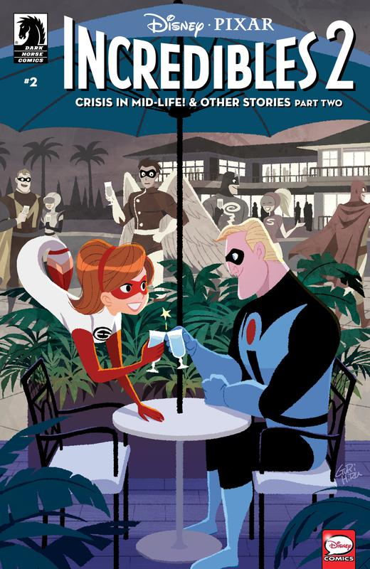 Incredibles 2 - Crisis in Mid-Life! & Other Stories #1-3 (2018) Complete