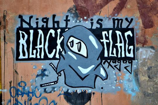 Night is my - Black flag