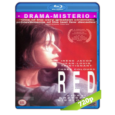 descargar Tres Colores Rojo [1994][BD-Rip][720p][Dual Cas-Fra][Drama] gratis