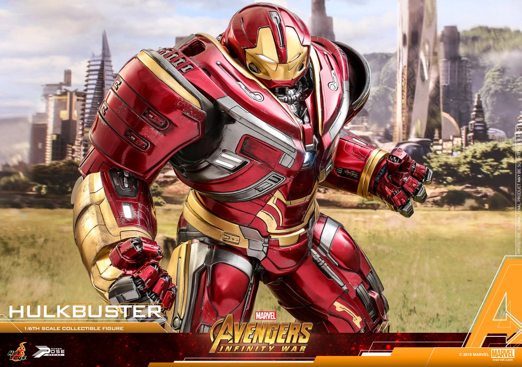 Avengers Infinity War - HulkBuster Mark 2 1/6 (Hot Toys) ZEiFLeY3_o
