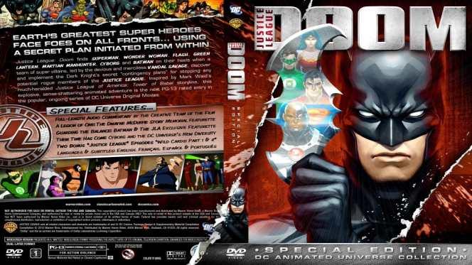 La Liga De La Justicia Perdicion (2012) BRRip Full 1080p Audio Dual Latino-Ingles
