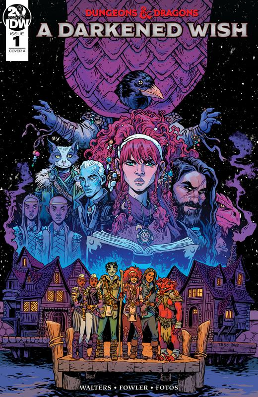 Dungeons & Dragons - A Darkened Wish #1-3 (2019)