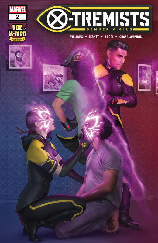 Age of X-Man - X-Tremists #1-5 (2019) Complete