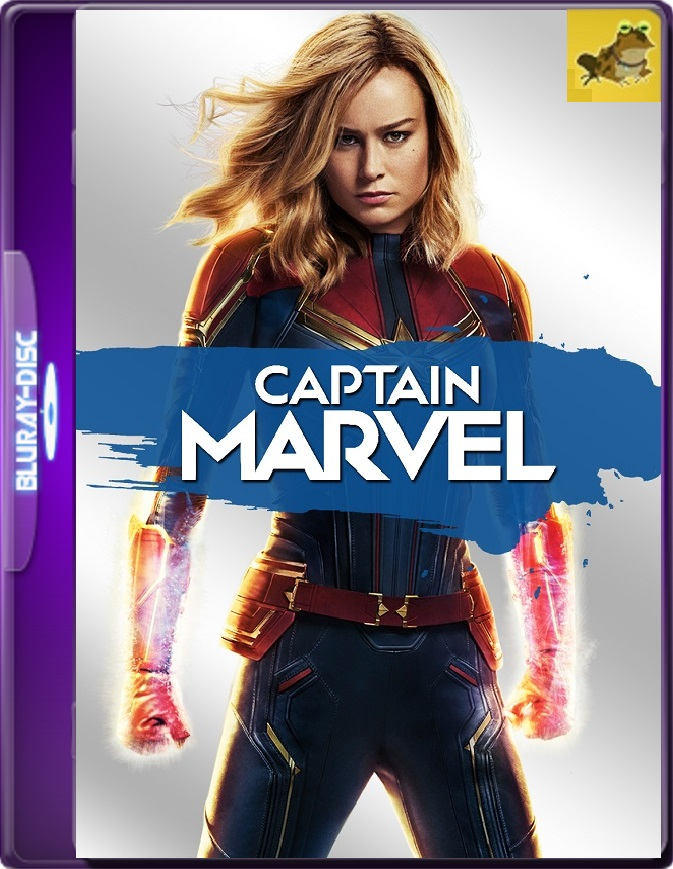 Capitana Marvel (2019) Brrip 1080p (60 FPS) Latino / Inglés