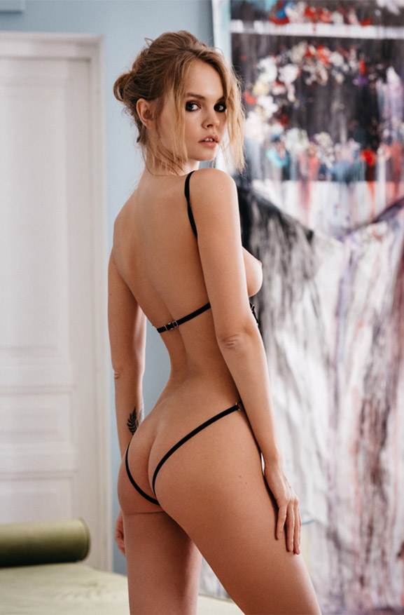 Анастасия Щеглова в сексуальном нижнем белье / Anastasiya Scheglova by Gregory Fountoussov / Stella by Couture de Nuit sexy lingerie