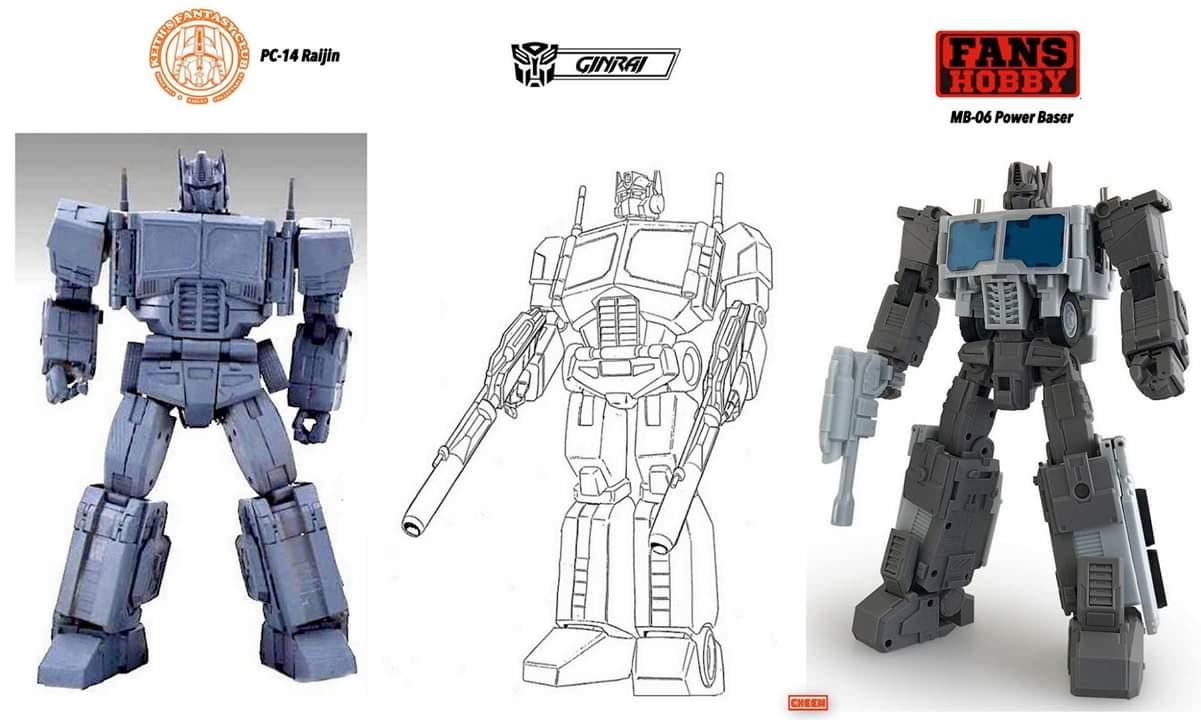 [KFC Toys] Produit Tiers - PC-14 Raijin + PC-15 Grand Raijin + P-16 Raiju - aka Ginrai (Powermaster Optimus) + Remorque de Ginrai + Godbomber = God Ginrai (TF Masterforce) 3RxBdAqu_o