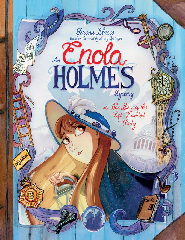 Enola Holmes v02 - The Case of the Left-Handed Lady (2019)
