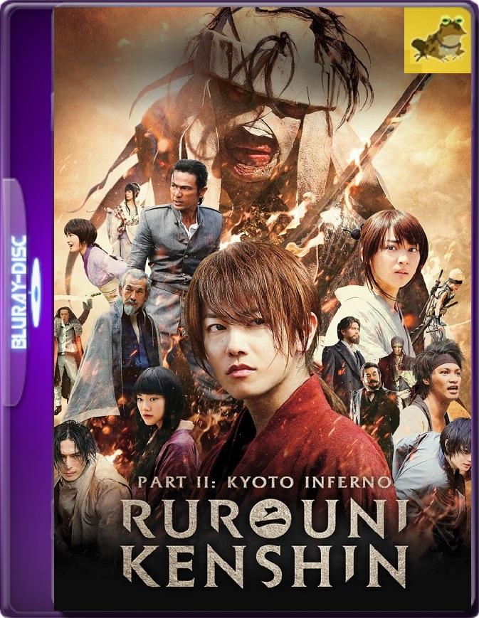 Kenshin, El Guerrero Samurái 2: Infierno En Kioto (2014) Brrip 1080p (60 FPS) Latino / Japonés