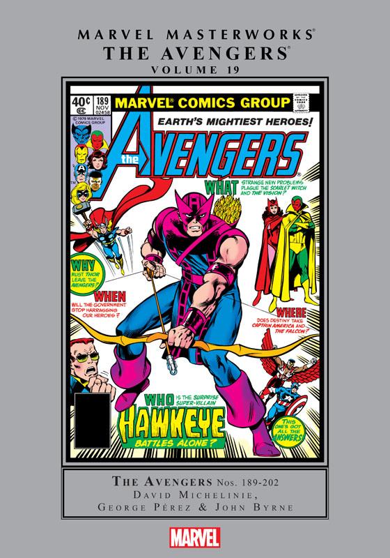 Marvel Masterworks - The Avengers v19 (2019)