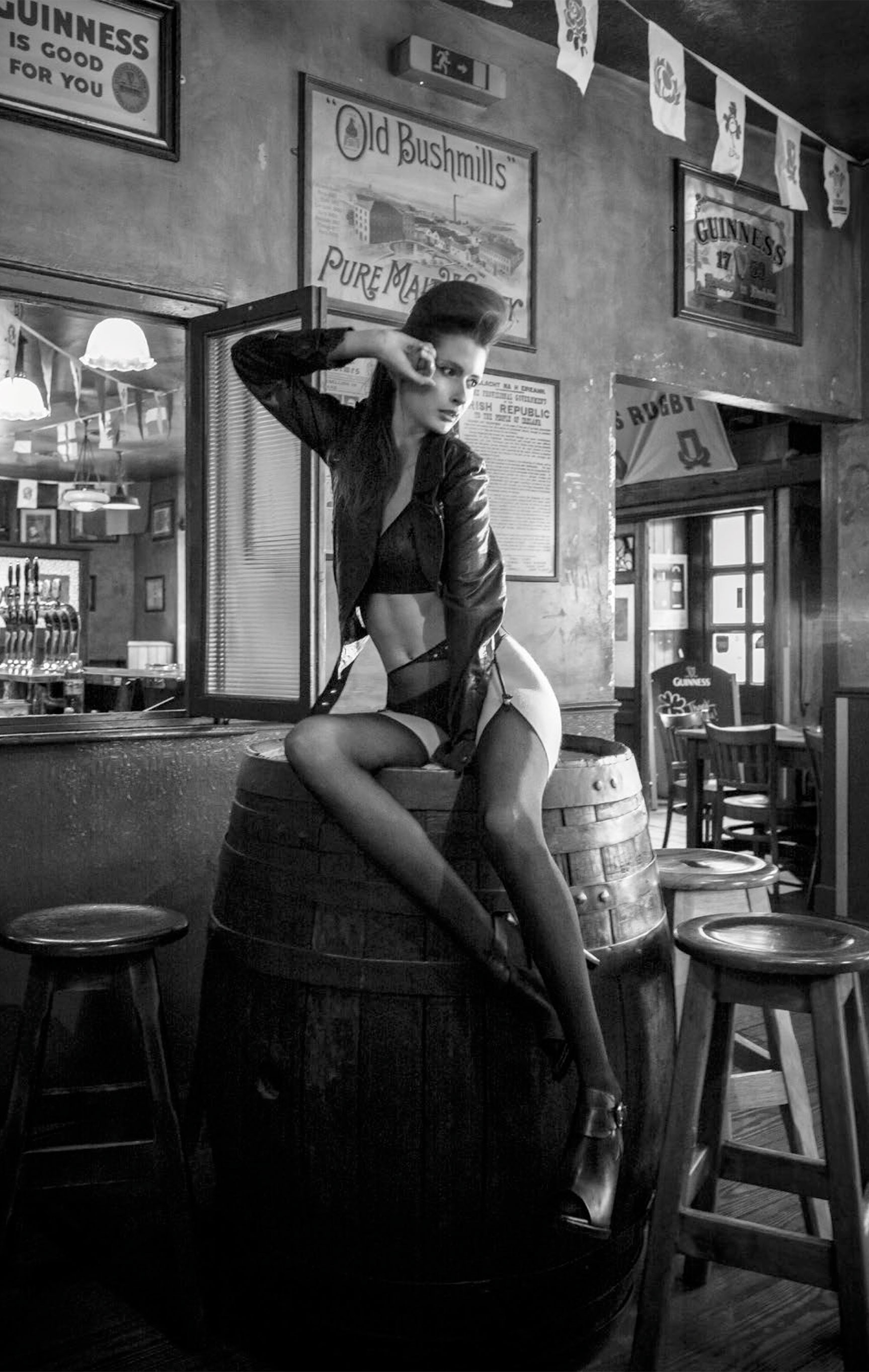 Out For A Pint! Darina Kluckova and Genoveva Leiter by Dimitri Burtsev