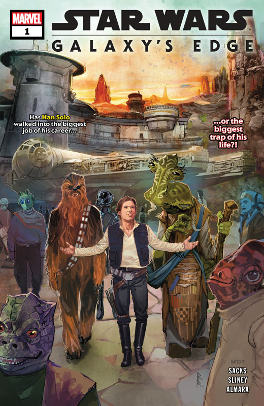 Star Wars - Galaxy's Edge #1-5 (2019) Complete