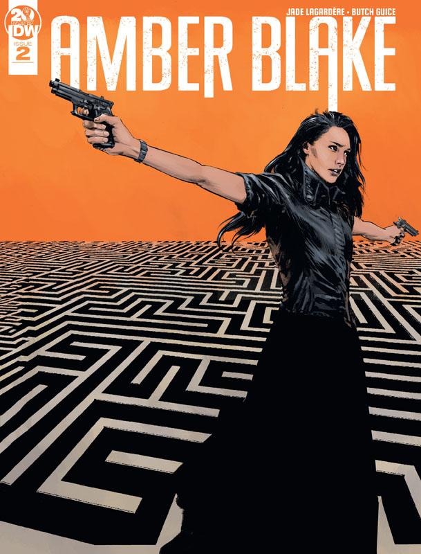 Amber Blake #1-4 (2019) Complete
