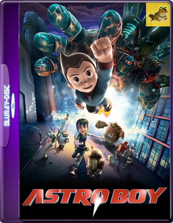 Astro Boy (2009) Brrip 1080p (60 FPS) Latino