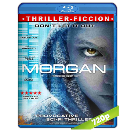 descargar Morgan [BDRip m720p][Trial Lat/Cast/Ing][VS][Ficcion](2016) gratis