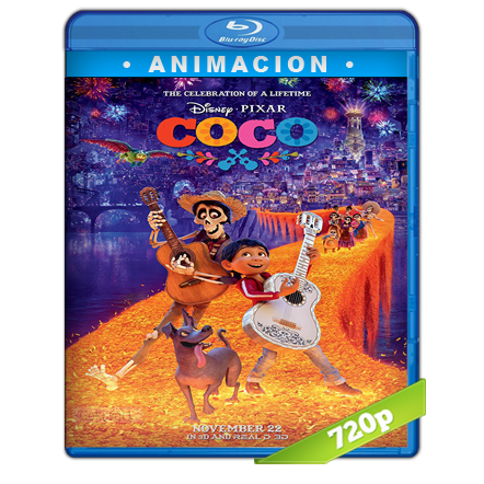 Coco HD720p Audio Dual Latino-Ingles 5.1 (2017)