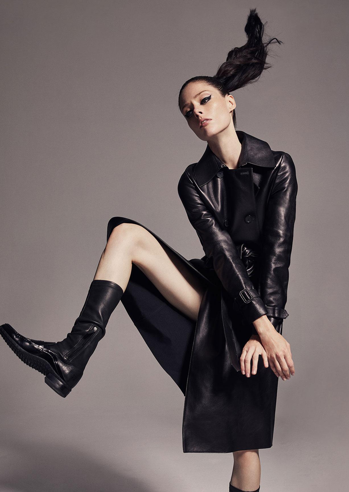 модное дефиле на крыше, модель Коко Роша / фото 07