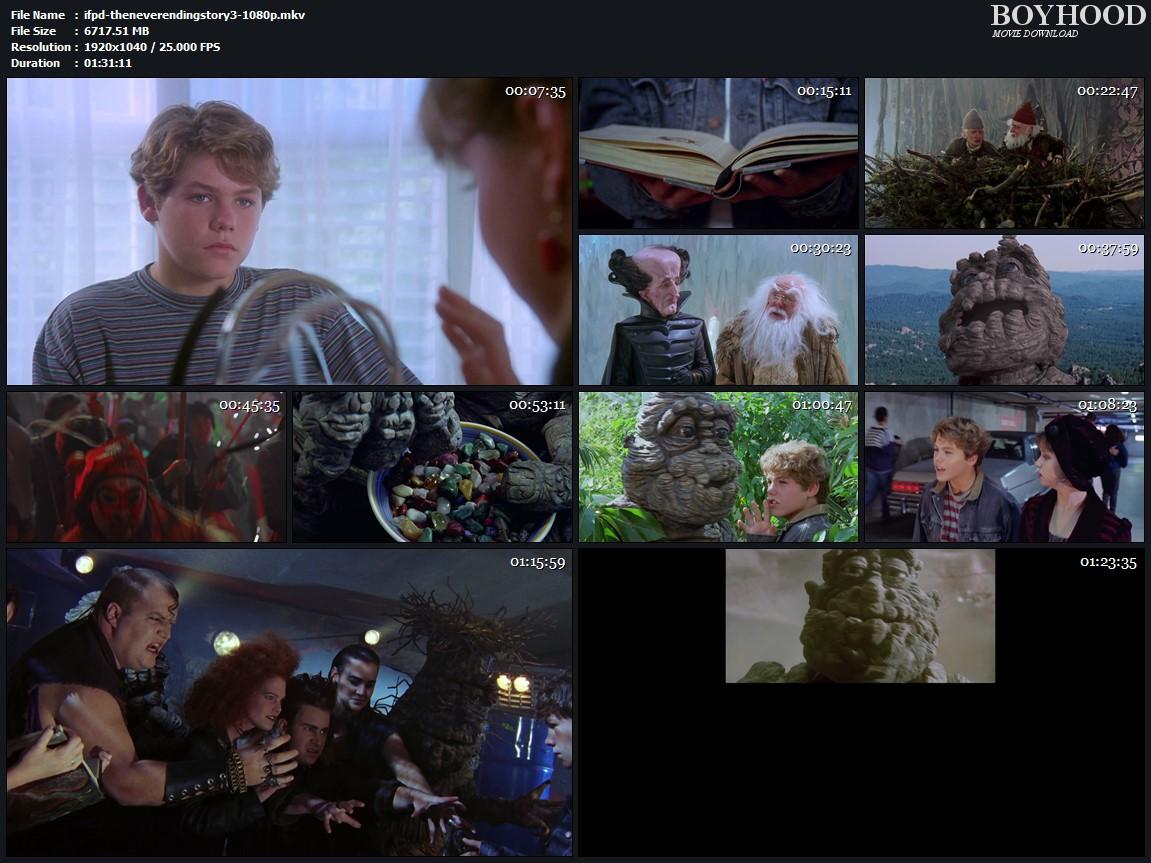 The Neverending Story III 1994