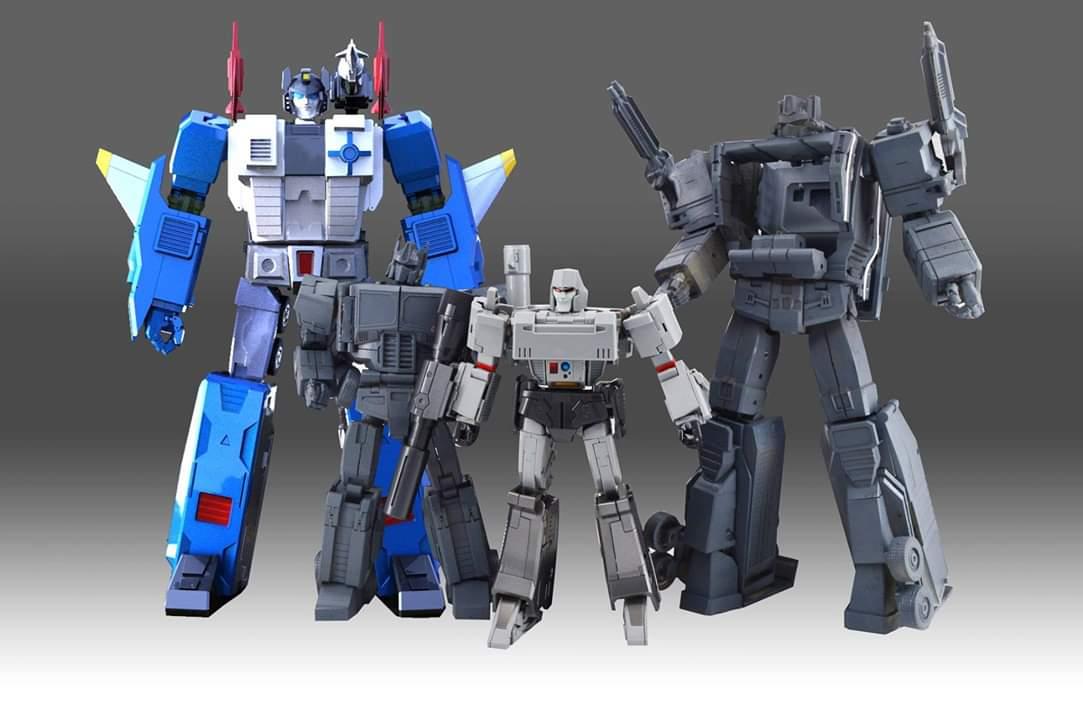 [KFC Toys] Produit Tiers - PC-14 Raijin + PC-15 Grand Raijin + P-16 Raiju - aka Ginrai (Powermaster Optimus) + Remorque de Ginrai + Godbomber = God Ginrai (TF Masterforce) TtkmmRDd_o