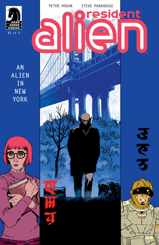Resident Alien - An Alien in New York #1-3 (2018)