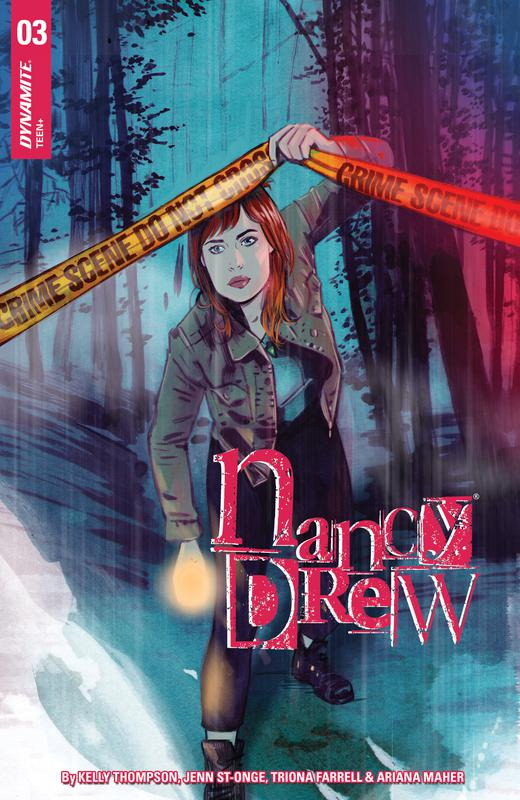 Nancy Drew #1-5 (2018) Complete